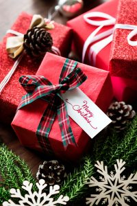 enjoy simple gift wraps rather than perfectionism