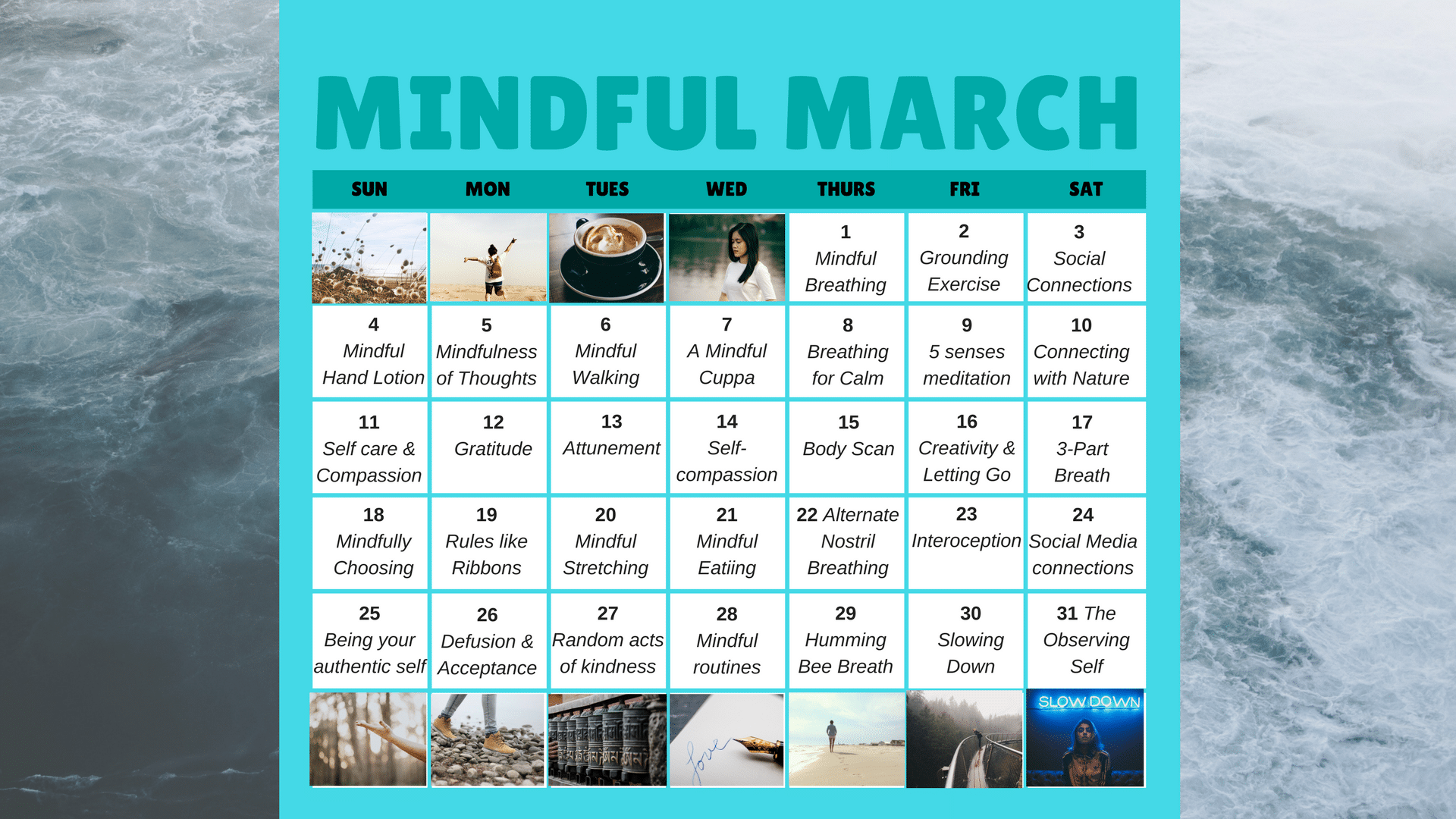 What I learnt during a month of mindfulness