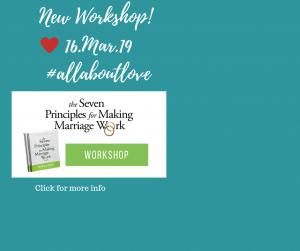 gottman seven principles workshop leader