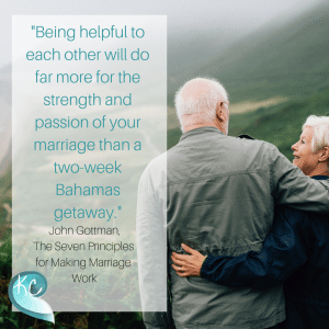 Being Helpful To Each Other Will Do Far More For The Strength And Passion Of Your Marriage Than A Two Week Bahamas Getaway John Gottman The Seven Principles For Making Marriage Work (1)